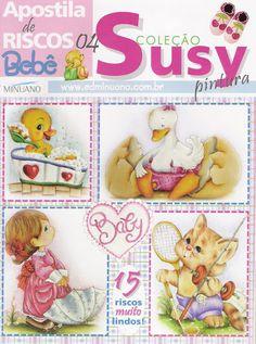 Pintura Tecido - Coleção Susy - Apostila de Riscos Bebê - 4 - carlosdanielluise - Álbuns da web do Picasa
