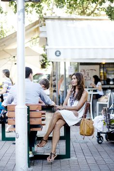 On the streets of Tel Aviv. waysify