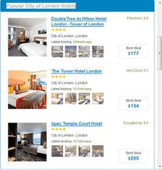 Going for a business trip, having a holiday or honeymoon in London or other places in the United Kingdom? Or looking for a comfortable hotel accommodation in London?London Hotels online booking app gives you the best hotel deals that saves you up to 80% even for some last minute hotel room reservations, whether you are booking for a cheap budget hotel or luxury 5 stars hotels in London or any part of the world and includes cities like New York, Paris, Moscow, Tokyo or Beijing etc. or reso...