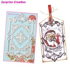 Cheap stencil diy, Buy Quality stencil cutting directly from China stencil christmas Suppliers: Surprise Creation Cutting dies Victorian Frame Scrapbook Craft Metal Dies Christmas DIY Stencil