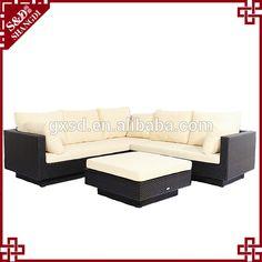 Sd Safari barato impermeable sofá de exterior de conjunto con made in China