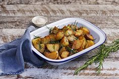 Maggie Beer's Roasted Potatoes with Rosemary