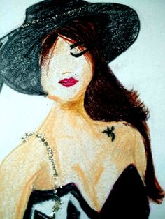 Portrait by steadlers with little use of sparkles.