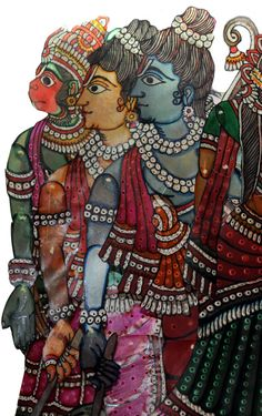 leather puppets from India!!