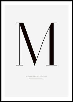 Stilvolles Poster mit Typografie online.