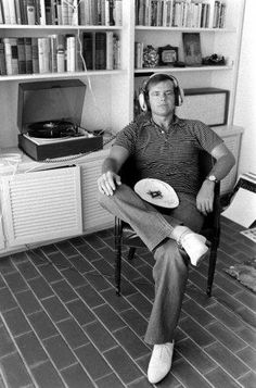 Nicholson and his vinyl who doesn't love Jack.....................s