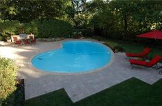 Outdoor Decor love the kidney bean shaped pool The Natural Mystique Of Orchids Article Body: Ste Swimming Pools Backyard, Swimming Pool Designs, Pool Landscaping, Outdoor Spaces, Outdoor Living, Outdoor Decor, Kidney Shaped Pool, Home Air Purifier, Diy Décoration