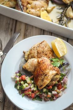 Israeli Roast Chicken