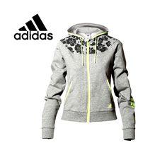 Barato Originais Adidas jaqueta de Moletom Com Capuz sportswear das mulheres frete grátis, Compro Qualidade América de Futebol Jaquetas diretamente de fornecedores da China:
