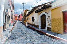 Calles de Quetzaltenango.