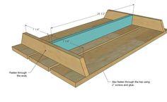 Pallet Children's Picnic Table For Ten Bucks! Pallet Desks & Pallet Tables