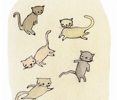 Kittens by heatherfuture on Etsy