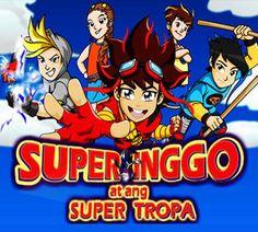 Super Inggo at ang Super tropa Hero Tv, Title Card, Mario, Animation, Comics, Cartoons, Fictional Characters, Cartoon, Cartoon Movies