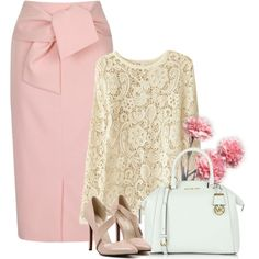 Başlıksız #926 by begonvilliev on Polyvore featuring moda, Lavish Alice and Michael Kors