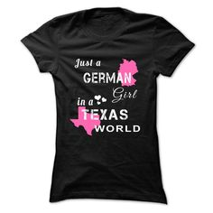(Tshirt best Gift) GERMAN girl in TEXAS world at Top Sale Tshirt Hoodies, Tee Shirts