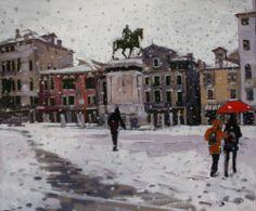 San Giovanni e Paolo snow effect - Ken Howard