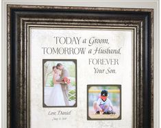 Celebrating the Special Moments in Your LIfe by PhotoFrameOriginals Wedding Gift for Parents Mother of the Groom, farmhouse signs for wedding day Thank You Gift For Parents, Wedding Gifts For Parents, Mother Of The Groom Gifts, Wedding Thank You Gifts, Wedding Gifts For Groom, Personalized Wedding Gifts, Father Of The Bride, Gift Wedding, Rustic Wedding Photos