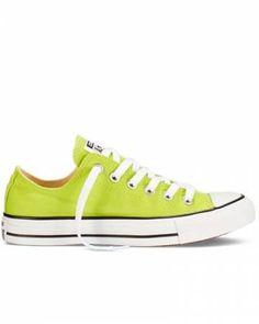 SiempreMujer.com: ¡Zapatillas #converse en color lima! ¡Irresistibles!