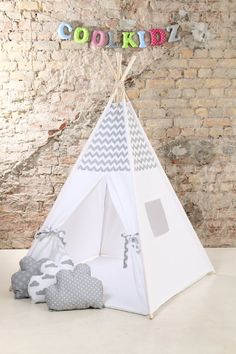 What is included -fabric teepee tent with 1 window - wooden poles - tie - padded play mat (depending on the selected option) SIZE Mat size height when ...  sc 1 st  Pinterest & Kids teepee play tent wigwam childrenu0027s teepee playtent tipi ...