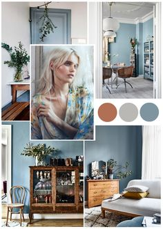 Interior Color Trends for The Evolution of Blue Learn more about interior color trends for 2020 and why color blue is expected to become huge in interior design and home decor. - Interior Color Trends for The Evolution of Blue Interior Design Trends, Home Decor Trends, Colorful Interior Design, Trending Paint Colors, Deco Design, Design Design, House Design, Interior Paint, Color Interior