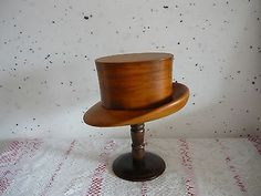 Gorgeous-millinery-wooden-hat-block-mold