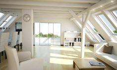 Vom Dachboden zum Wohnraum Nachher:  Dachboden 3