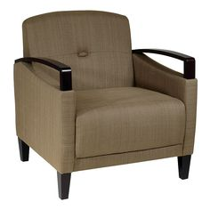 Office Star Products Avenue Six Main Street Chair, Green