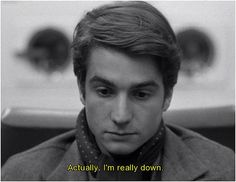 Jean Pierre Leaud in Godard's Masculin Feminin. Another movie crush Jean Pierre Leaud, Gold Movie, French Films, French Icons, French New Wave, Jean Luc Godard, Movie Lines, Single Men, Film Books