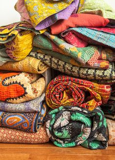 Love my Kantha Quilt collection. I need more!