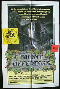 Burnt Offerings (1976) - Karen Black, Oliver Reed, Bette Davis Burgess Merideth    #Movies #HauntedHouse #Ghosts #Halloween