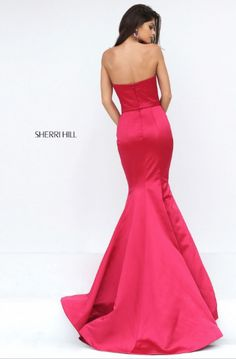Sherri Hill has the most flattering and fashionable cocktail dresses to spice up your next party! Style 50543 available at WhatchamaCallit Boutique.