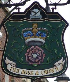 The Rose and Crown - High Street, Hemel Hempstead, Hertfordshire, UK.