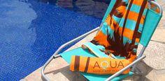 Aqua Hotels beach towel