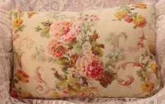 Ralph Lauren Pillow cover Lovely floral in vintage colors