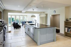 kitchen | contemporary country extension | 16th century Wiltshire | conversion and restoration MS Building