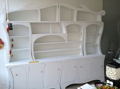 Dance closet White Queen wall unit in white by Raxfox on Etsy