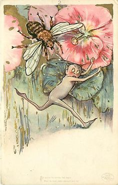 SCHMUCKER ~ vintage postcard, via  eBay
