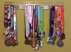 Fifty States Half Marathon Club MEMBER'S BLING #halfmarathon - 50 States Half Marathon Challenge and 100 half anywhere challenge  - 100 half marathon - 100 half marathons - 50 half marathons in 50 states - #running a half marathon in 50 states - running 100 half marathons and 7 Continents Endurance Challenge - 500 Endurance Challenge. 2014 HALF MARATHON FINISHER MEDALS of our 50 States Half Marathon Club members. www.halfmarathonclub.com