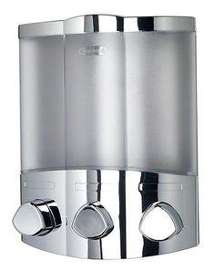 Euro #croydex #aviva trio chrome soap shampoo triple bathroom shower #dispenser,  View more on the LINK: http://www.zeppy.io/product/gb/2/281954265997/