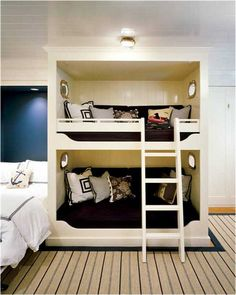 Another bunk idea for boys room-