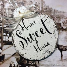 Home sweet home par Marie sur Etsy