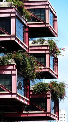 Casa do Comércio,Salvador,Brazil Designed by Jáder Tavares, Otto Gomes e Fernando Frank in 1988