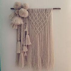 "anindyajati windiari on Instagram: ""#handmade #tapestry #wovenwallhanging…"