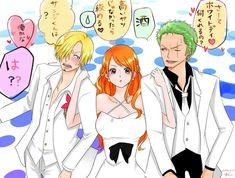 One Piece Comic, Nami One Piece, One Piece Ship, One Piece Manga, Zoro Nami, Roronoa Zoro, One Peace, One Piece Pictures, Anime Love Couple
