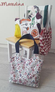 Tragetasche und Einkaufstasche nähen Sewing Machine Projects, Baby Sewing Projects, Sewing Projects For Beginners, Sewing Tutorials, Easy Baby Sewing Patterns, Baby Clothes Patterns, Poncho Crochet, Crochet Blanket Patterns, Diy Pillow Covers