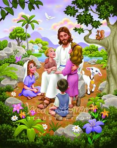 Find thousands of LDS books, movies, music and more. Looking for an LDS related gift? Pictures Of Jesus Christ, Bible Pictures, Bible Crafts, Bible Art, Jesus Cartoon, Jesus Drawings, Jesus Artwork, Jesus Photo, Jesus Is Risen
