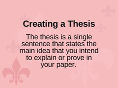 Need help coming up with a thesis for research paper!?