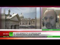 Daniel Estulin:La decisión del Papa es fruto de la lucha a muerte entre la masonería y catolicismo
