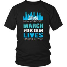 March for Our Lives NYC New York T-Shirt