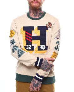 a7c4bd8dc2d Find Yard Crew Sweatshirt Men s Sweatshirts  amp  Sweaters from Hustle Gang   amp  more at